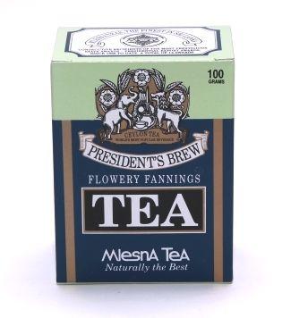 """Čaje Mlesna Cejlonský černý čaj """"Presidents Brew Tea"""" MLESNA (Ceylon) Ltd. pravý čaj z Cejlonu"""