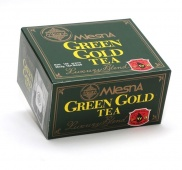GREEN GOLD TEA, čistý zelený čaj 50ks x 2g