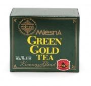 Čaje Mlesna ZELENÉ ZLATO z CEJLONU, porcovaný čaj MLESNA (Ceylon) Ltd. pravý čaj z Cejlonu