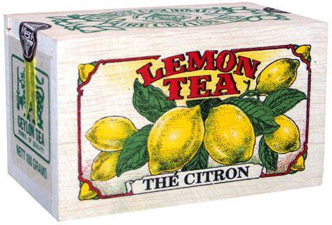 Čaje Mlesna Exkluzivní černý sypaný čaj s přírodní esencí z citrónů MLESNA (Ceylon) Ltd. pravý čaj z Cejlonu