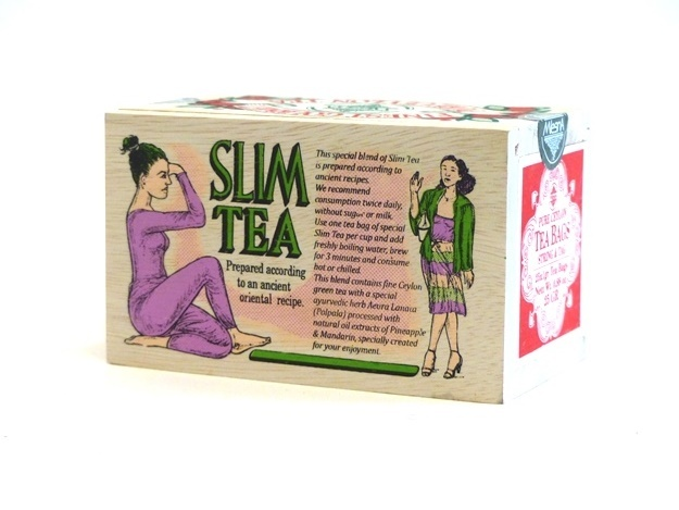 Čaje Mlesna SLIM TEA, orientální receptura se zeleným čajem MLESNA (Ceylon) Ltd. pravý čaj z Cejlonu