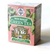 SOURSOP zelený čaj karton 100g