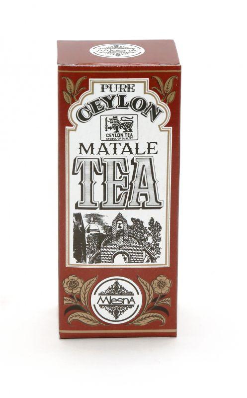 Čaje Mlesna Pravý cejlonský čaj z oblasti Matale, nejvyšší kvalita MLESNA (Ceylon) Ltd. pravý čaj z Cejlonu