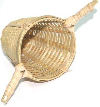 Čaje Mlesna Bambusové sítko z přírodního materiálu na sypané čaje pravý čaj z Cejlonu