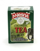 Čaje Mlesna COLONIAL TEA, směs černých čajů nejvyšší kvality F.B.O.P. MLESNA (Ceylon) Ltd. pravý čaj z Cejlonu
