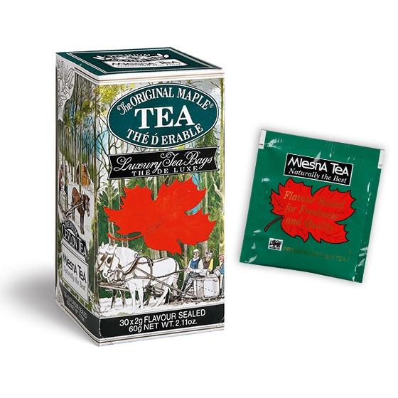 Čaje Mlesna Černý čaj ochucený extraktem kanadského javorového sirupu MLESNA (Ceylon) Ltd. pravý čaj z Cejlonu