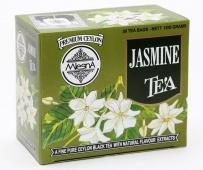 Čaje Mlesna Černý čaj s jasmínem, osvěží a dodá energii MLESNA (Ceylon) Ltd. pravý čaj z Cejlonu