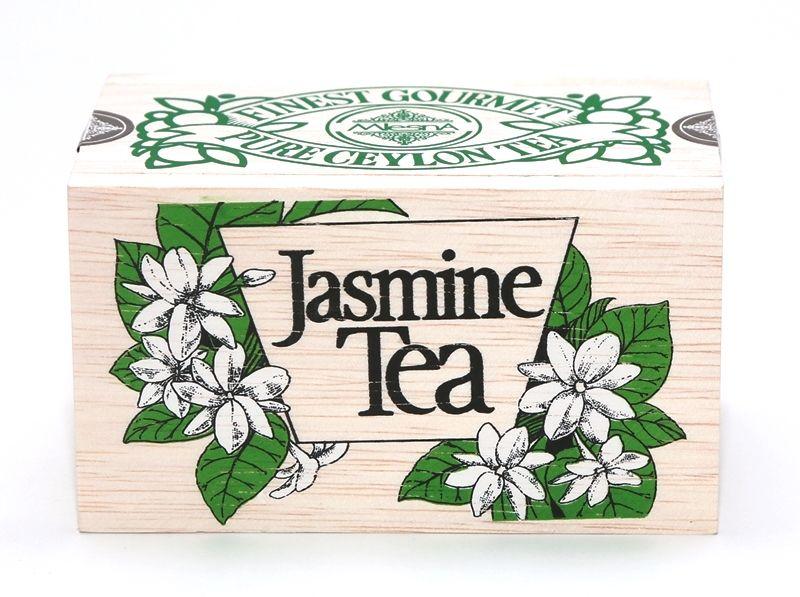 Čaje Mlesna Exkluzivní černý sypaný čaj s přírodní esencí z jasmínů MLESNA (Ceylon) Ltd. pravý čaj z Cejlonu