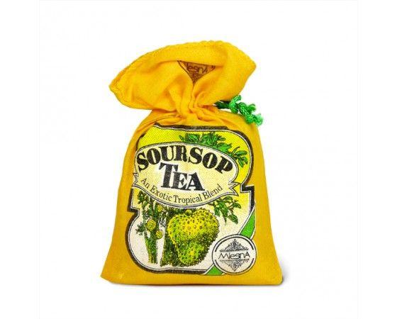 Čaje Mlesna Čaj SOURSOP, černý sypaný čaj, originální dárek MLESNA (Ceylon) Ltd. pravý čaj z Cejlonu