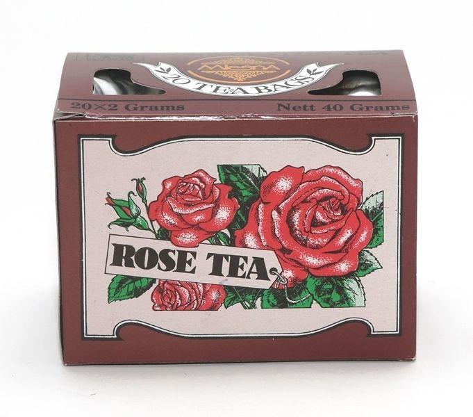 Čaje Mlesna RŮŽE, černý cejlonský sáčkový čaj nejvyšší kvality MLESNA (Ceylon) Ltd. pravý čaj z Cejlonu