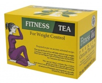Čaje Mlesna Fitness Tea Premium, orientální receptura se zeleným čajem MLESNA (Ceylon) Ltd. pravý čaj z Cejlonu