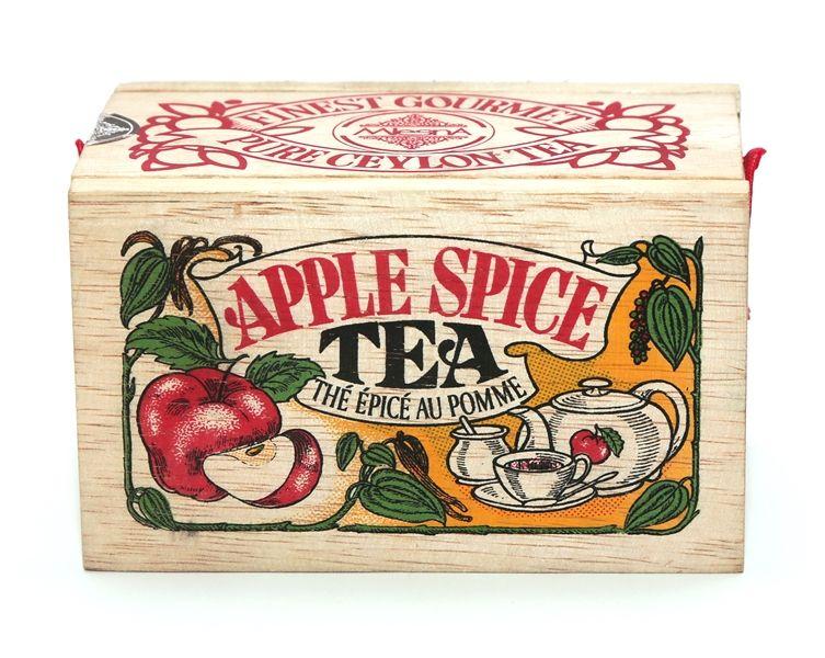 Čaje Mlesna Exkluzivní černý sypaný čaj s přírodní esencí z jablek a skořice MLESNA (Ceylon) Ltd. pravý čaj z Cejlonu