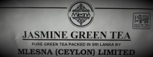 Čaje Mlesna JASMÍN zelený čaj, sypaný 500g MLESNA (Ceylon) Ltd. pravý čaj z Cejlonu