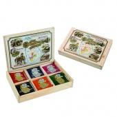 Kolekce čajů z  šesti hlavních regionálních oblastí  - sáčkový čaj  30ks -  60g
