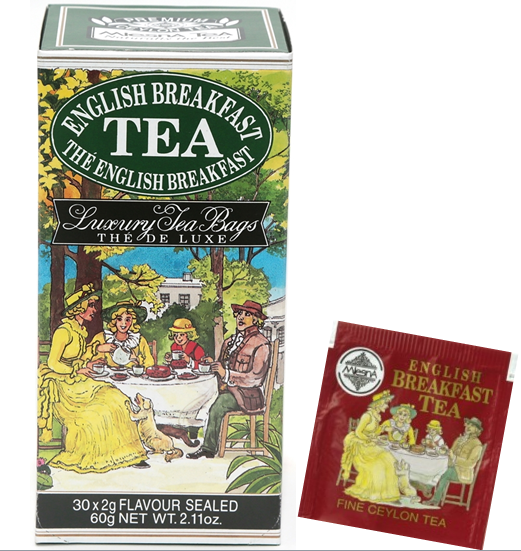 Čaje Mlesna English Breakfast, černý čaj nejvyšší kvality MLESNA (Ceylon) Ltd. pravý čaj z Cejlonu