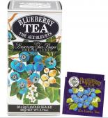 Černý cejlonský čaj sáčkový s přírodní esencí borůvek
