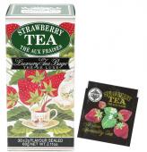 Černý sáčkový čaj  - JAHODA 30x2g
