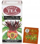 Cejlonský černý čaj nejvyšší kvality s přírodní esencí vanilky