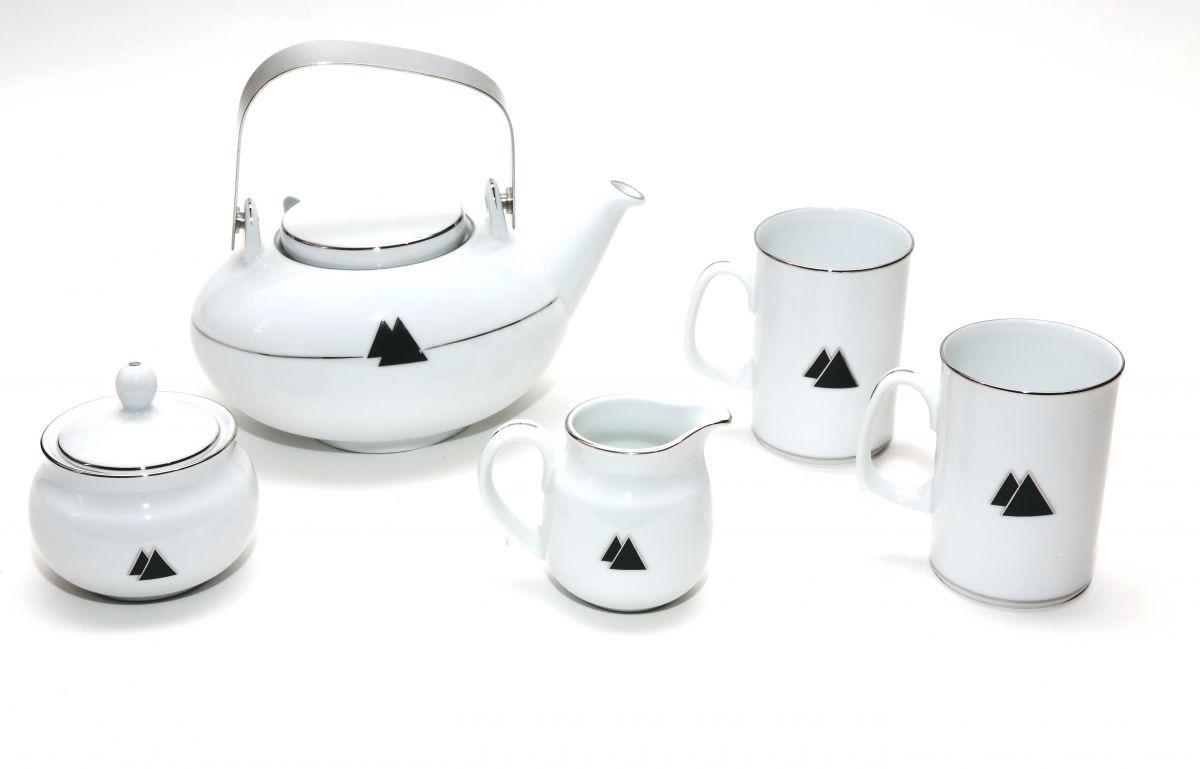 Čaje Mlesna Porcelán NORITAKE, originální japonský styl MLESNA (Ceylon) Ltd. pravý čaj z Cejlonu