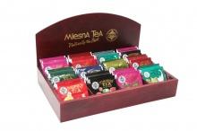 Prezentační kazeta na 12 druhů čajů Mlesna