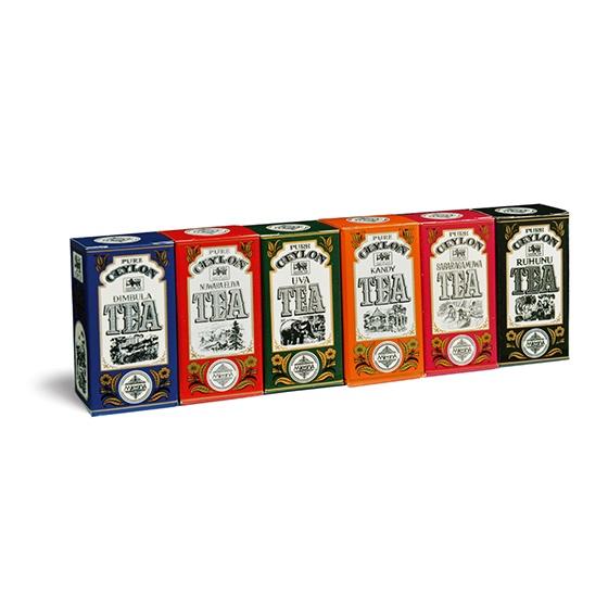 Čaje Mlesna Regionální kolekce čajů Mlesna 75g pravý čaj z Cejlonu