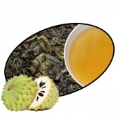 SOURSOP green tea laminate  500g