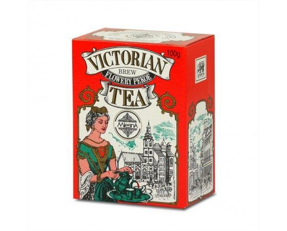 Čaje Mlesna Viktorian Blend Orange Pekoe Tea, exkluzivní sypaný černý čaj MLESNA (Ceylon) Ltd. pravý čaj z Cejlonu