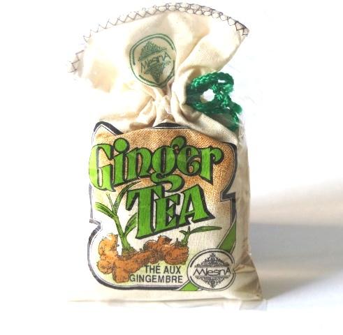 Čaje Mlesna Cejlonský černý čaj s přírodní esencí ze zázvoru MLESNA (Ceylon) Ltd. pravý čaj z Cejlonu
