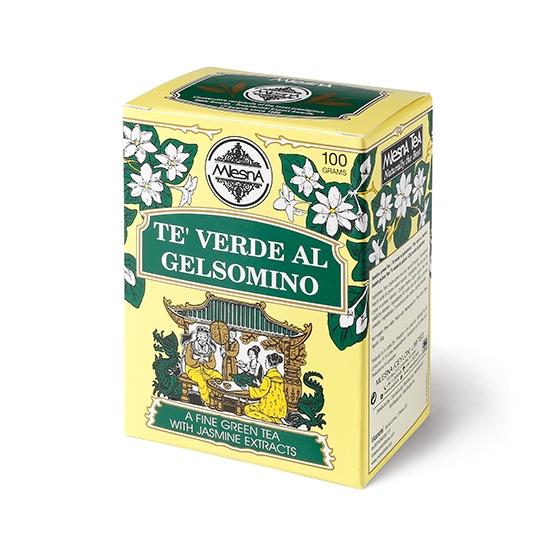 Čaje Mlesna Zelený čaj s jasmínem 100g MLESNA (Ceylon) Ltd. pravý čaj z Cejlonu