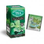 Zelený čaj s mátovou esencí -  čaj pro zdravý životní styl