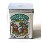 ROYAL GUNPOWDER - luxusní zelený čaj - plechová dóza 100g