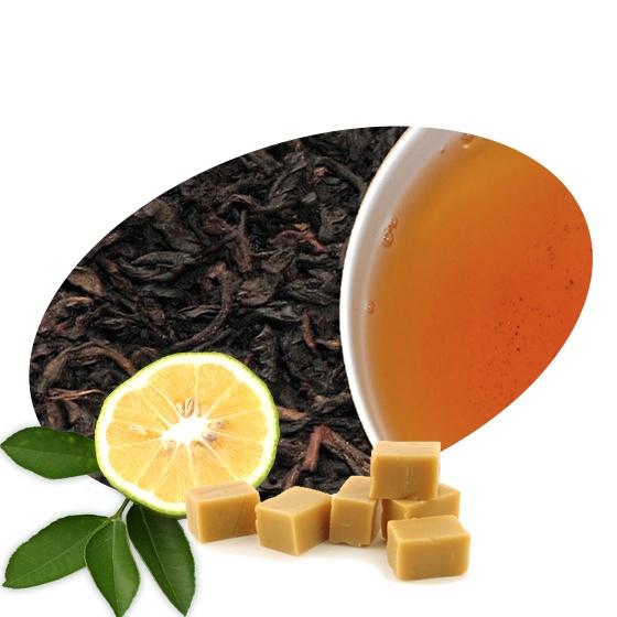 Čaje Mlesna EARL GREY s KARAMELEM sypaný čaj balení - 100g MLESNA (Ceylon) Ltd. pravý čaj z Cejlonu