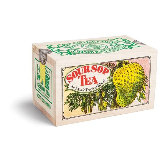 Čaje Mlesna Exkluzivní černý čaj Soursop v dárkovém balení 100g MLESNA (Ceylon) Ltd. pravý čaj z Cejlonu